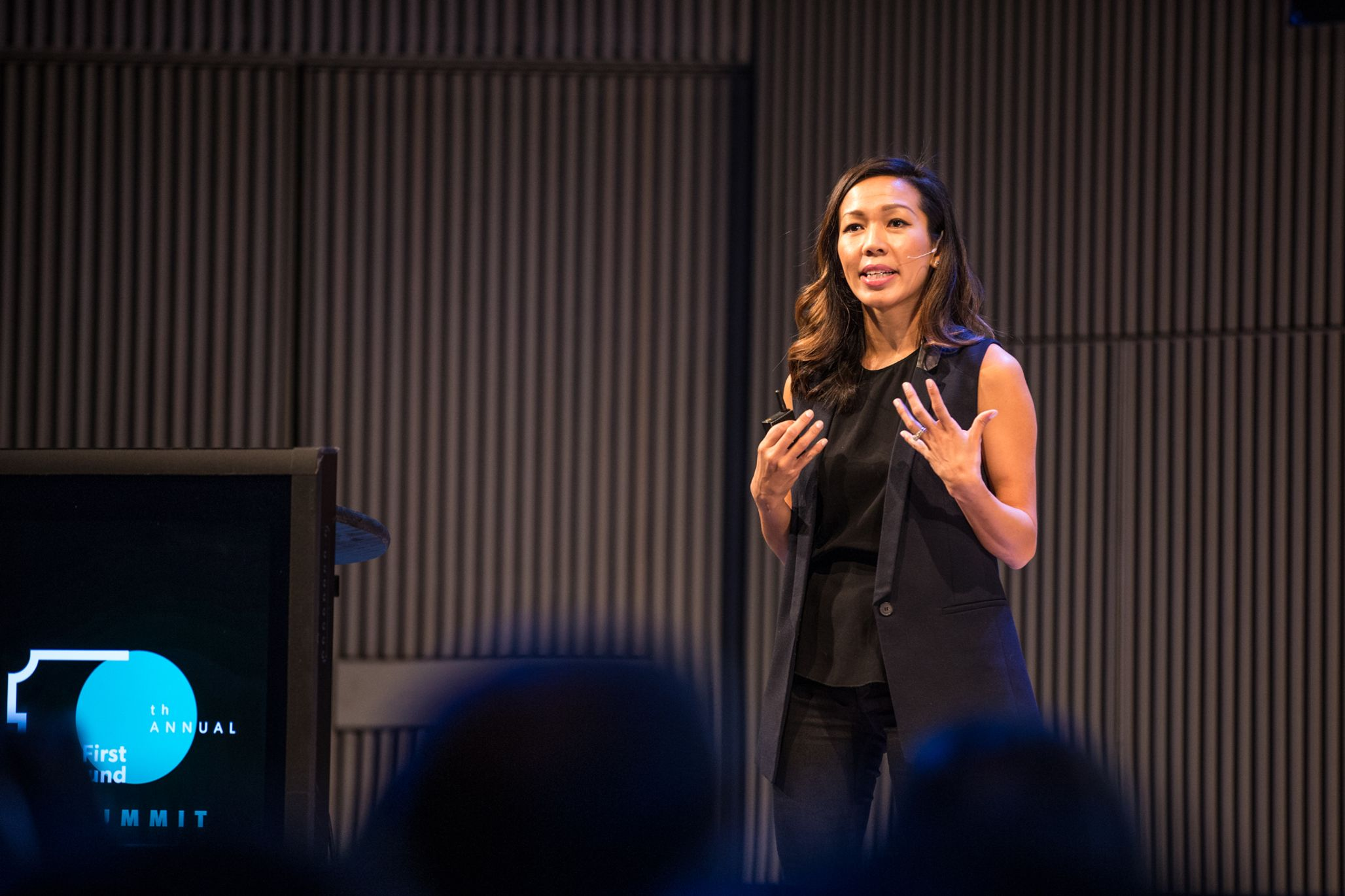 Florence Thinh Chialtas, VP of People Operations at NerdWallet