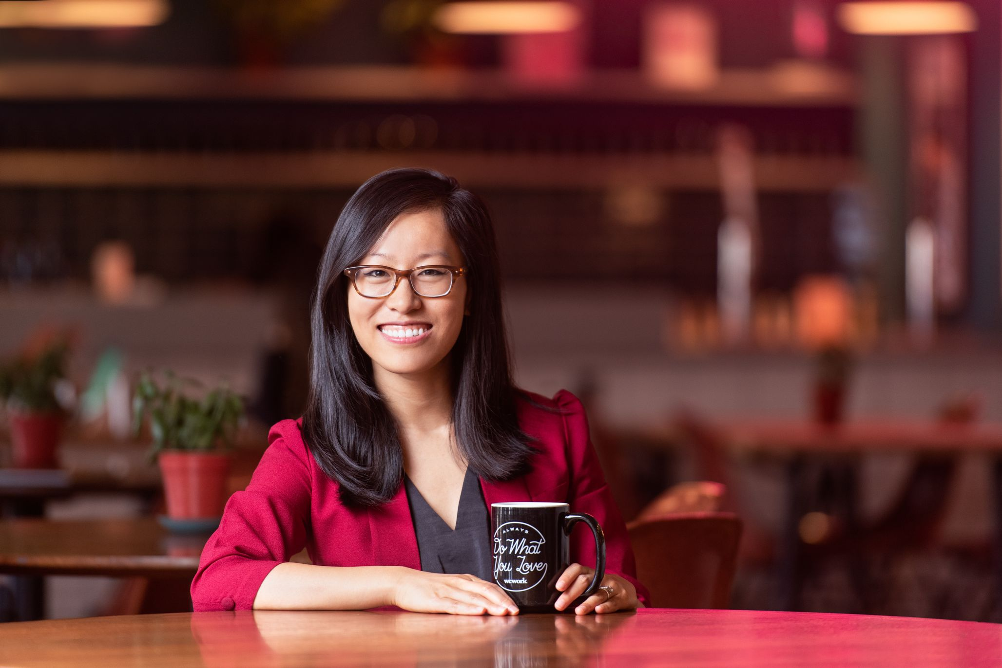 """Jiaona Zhang (""""JZ""""), Director of Product Management at WeWork."""